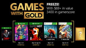 gold games new xbox microsoft